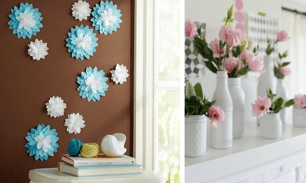 Manualidades faciles para decorar la casa