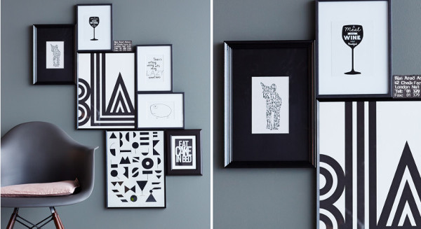 composici n y armon a el arte de colgar cuadros diario artesanal. Black Bedroom Furniture Sets. Home Design Ideas