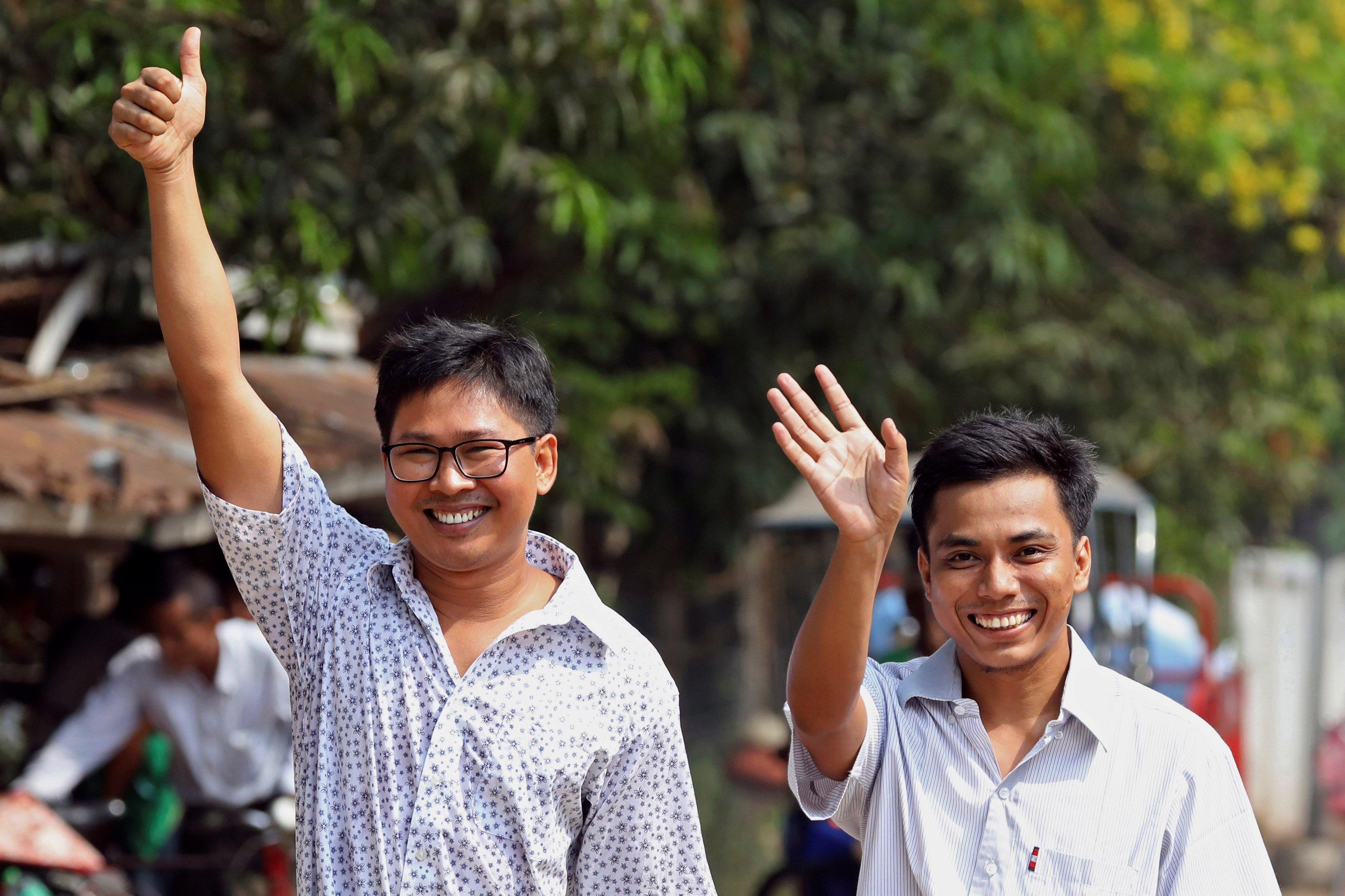 Myanmar libera a 2 periodistas encarcelados de Reuters | Internacional