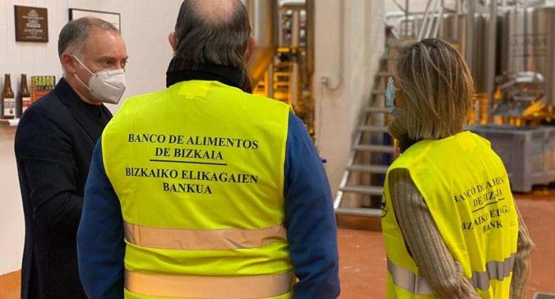 LA SALVE dona 1.500 kg de productos al Banco de Alimentos