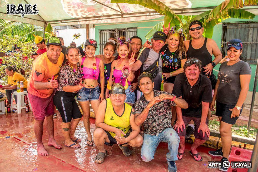 Sindicato de cuernudos preparan carnaval donde pasearán en el 'cuernomóvil' FOTOS: SINDICATO DE CACHUDOS DE PUCALLPA