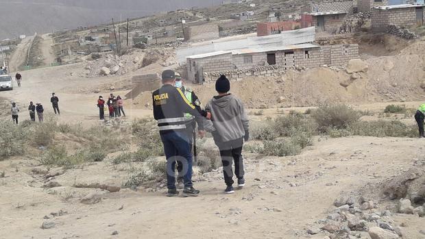 Menores infractores fueron retenidos por efectivos de la Policía