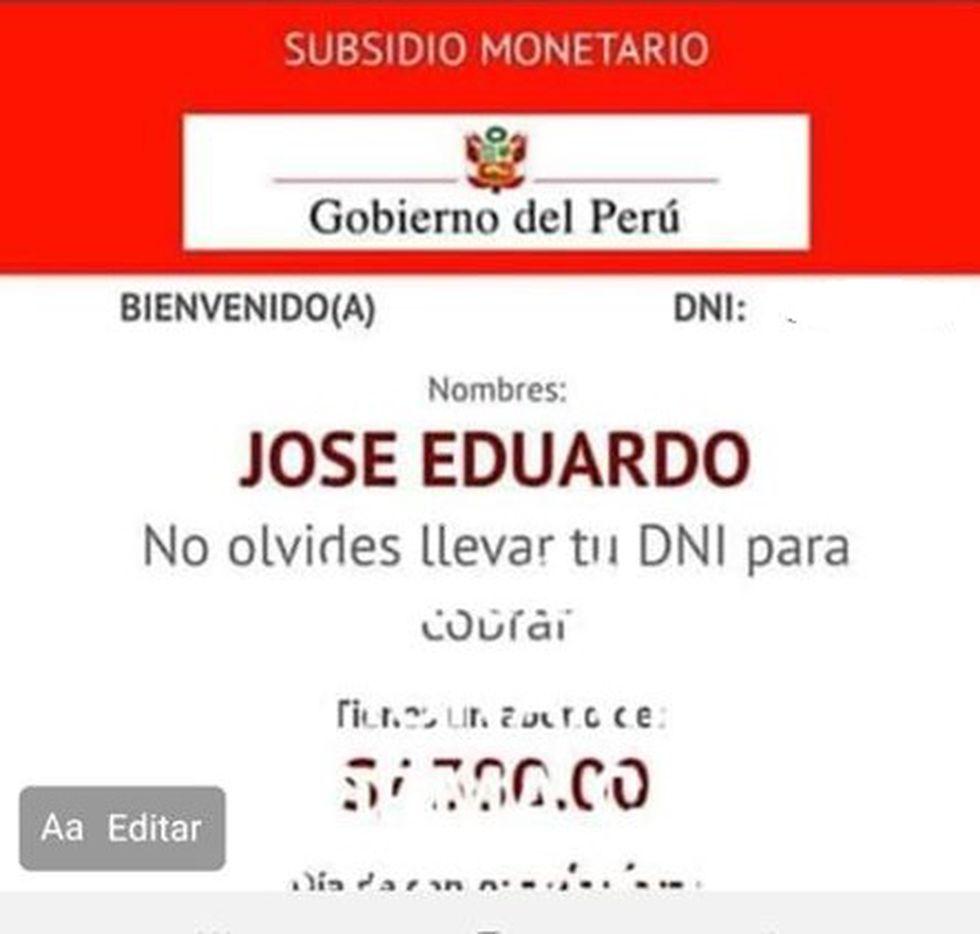 El alcalde de la provincia de Chanchamayo, región Junín, Eduardo Mariño Arquiñigo, informó que aparece como beneficiario del bono de S/380. (Foto: Municipalidad de Chanchamayo)