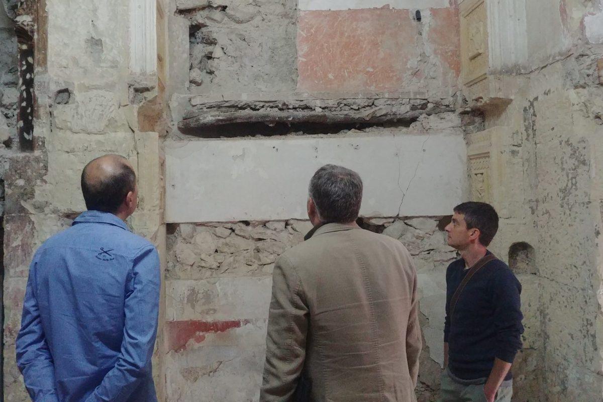 Encuentran restos del siglo XVIII de la capilla de los condes de Torrellano en la iglesia de la Merced de Elche