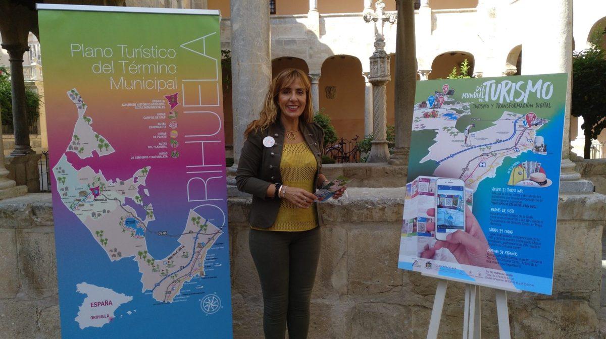 Orihuela presenta las actividades para el Día Mundial del Turismo