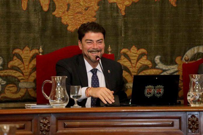 Luis Barcala, alcalde de Alicante.