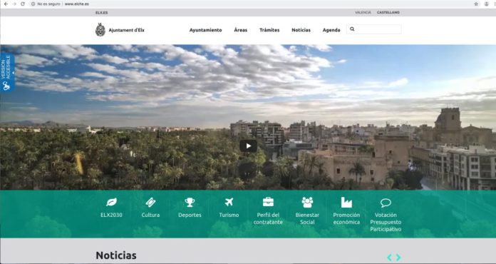 web Diario de Alicante