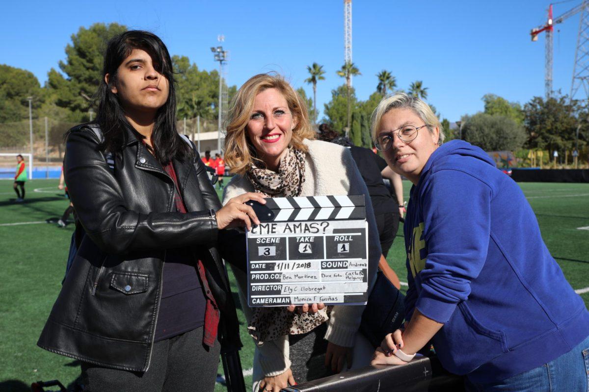 """Ely C. Llobregat: """"Para nosotros sería un logro si con el cortometraje consiguiéramos que se matara a una persona menos"""""""