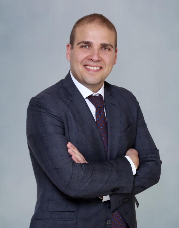 Adrián Ballester, vicepresidente quinto de la Diputación de Alicante.