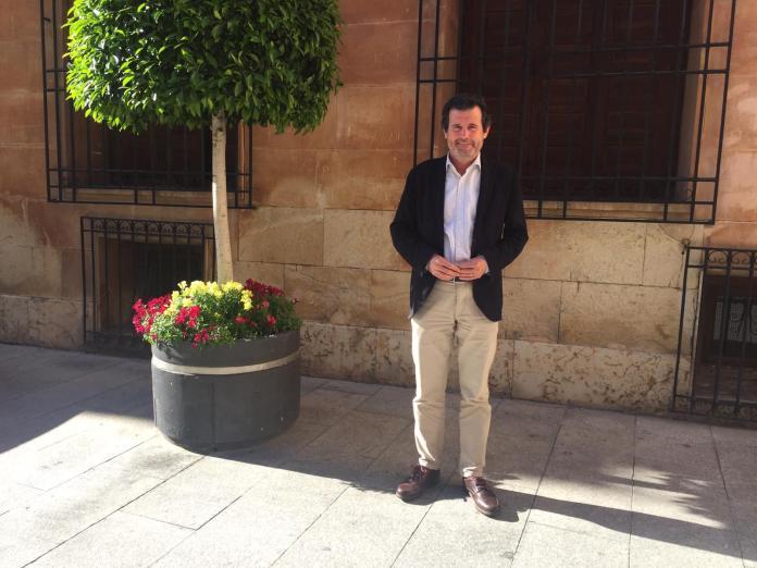 José Císcar posando junto a un bonito árbol / PP Alicante