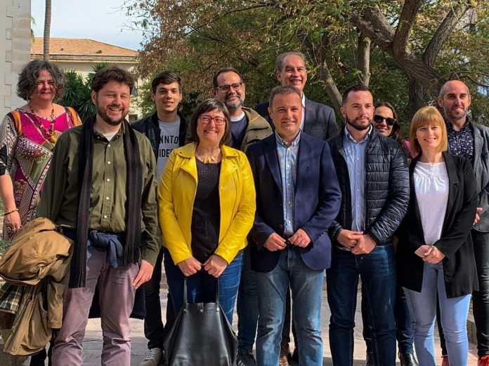 La foto oficial de la candidatura de Compromís a las elecciones municipales de Alicante/ Compromís Alacant.