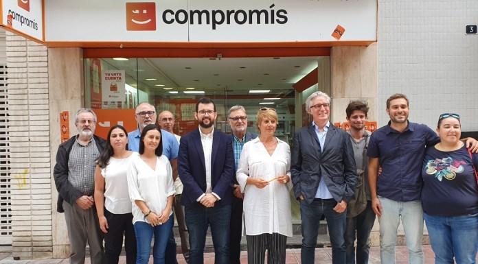 Presentanción de la candidatura de Més Compromís en Alicante / Alex Ferrer