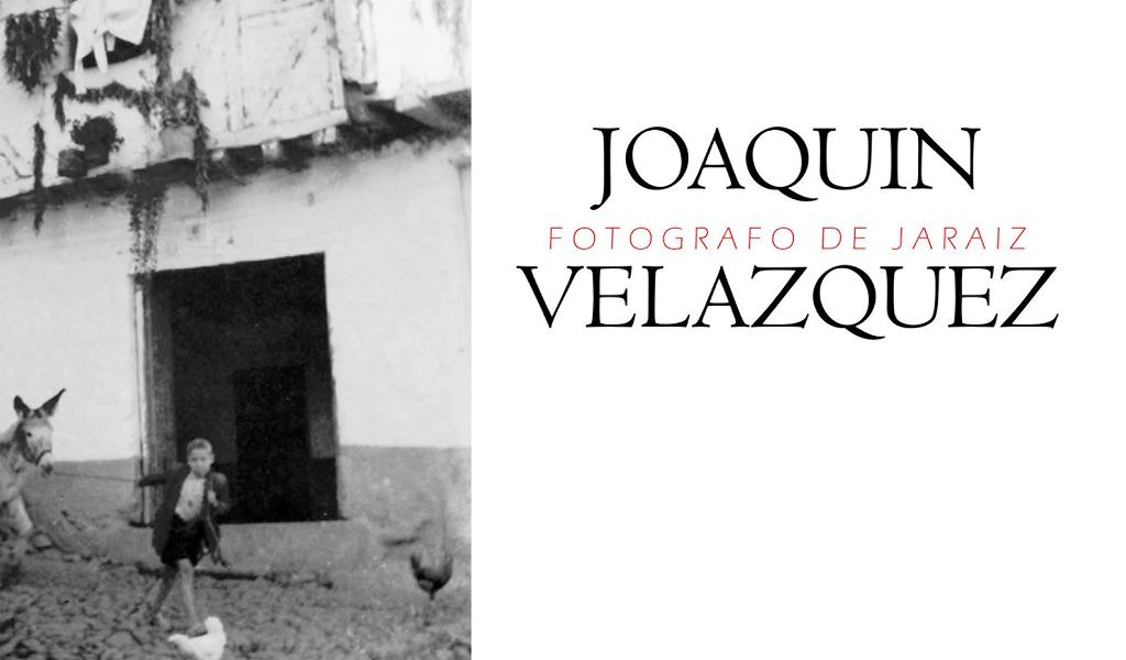 Presentación del Libro Joaquín Velázquez García (JOVE) - Fotógrafo de Jaraíz