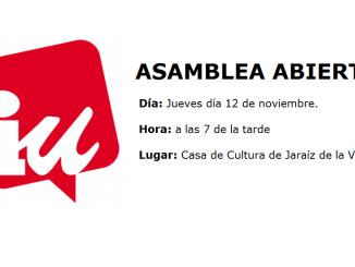 Asamblea Abierta - 12 de noviembre 2015