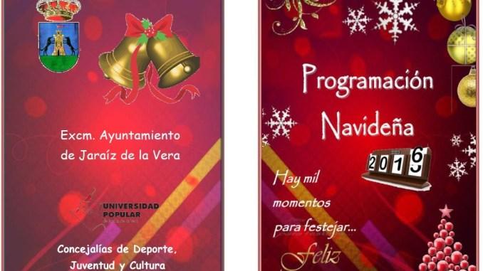 Programa Completo de la programación Navideña en Jaraíz de la Vera de Jaraíz de la Vera