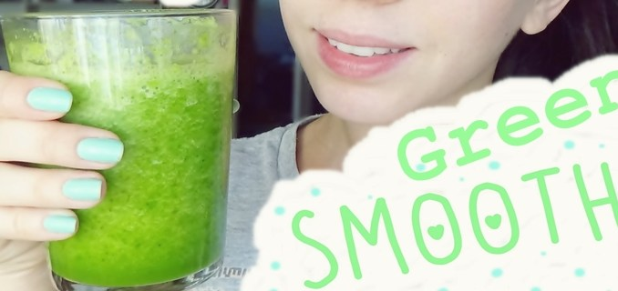 Delicioso y fácil Green Smoothie
