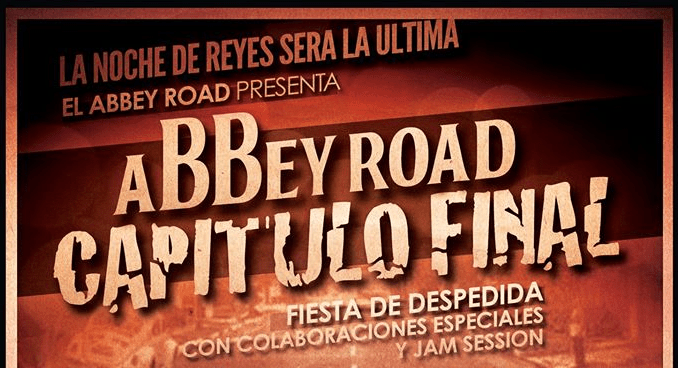 Fiesta de Reyes - Despedida del Abbey Road