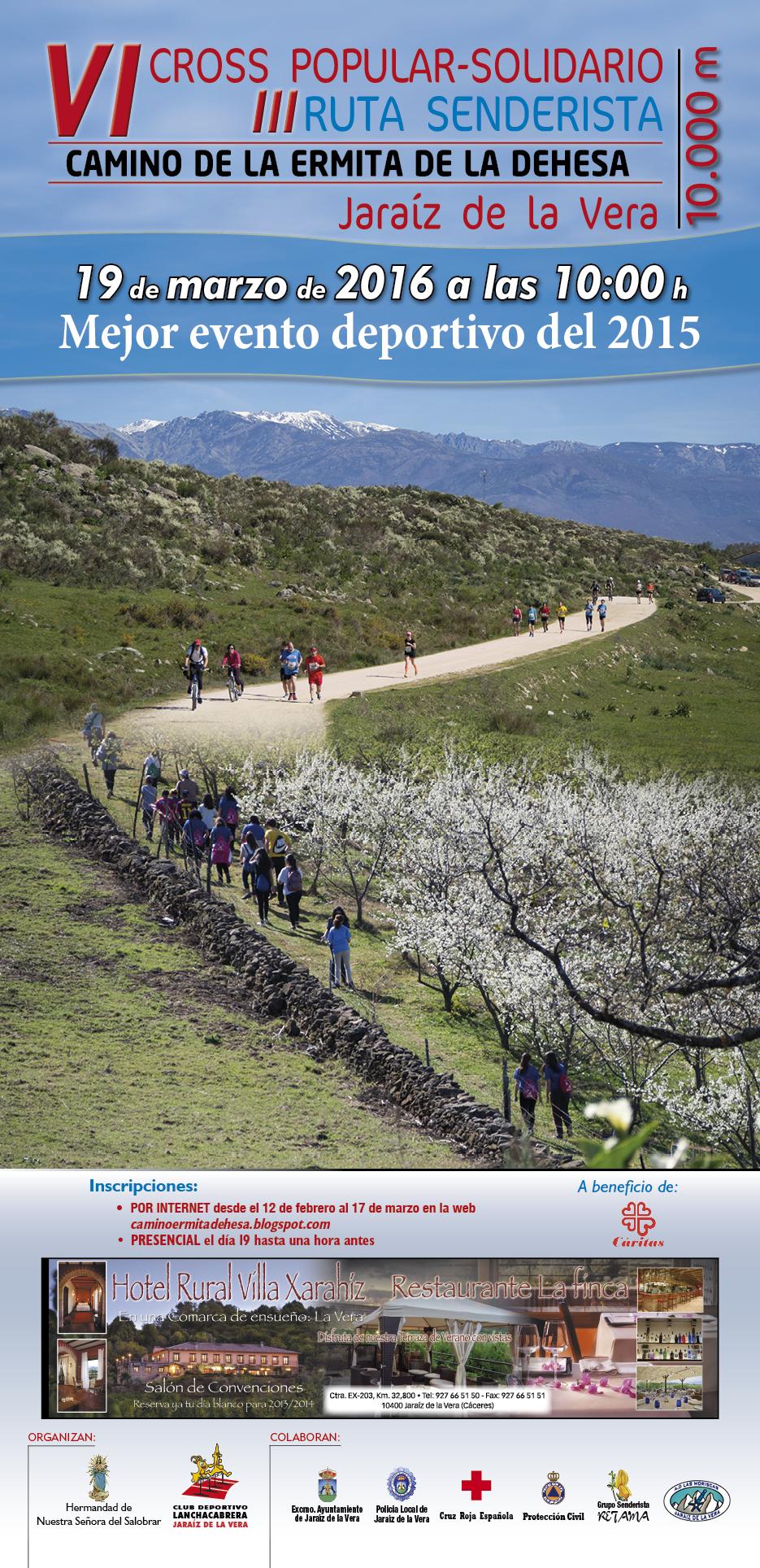 VI Cross y III Ruta Senderista Camino Ermita de la Dehesa