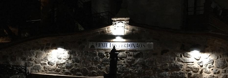 Cuacos inaugura la Fuente de los Perdonaos