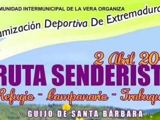 Ruta Senderista Refugio-Campanario-Trabuquete en Guijo De Santa Bárbara