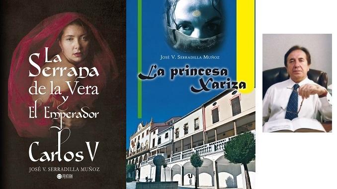 El escritor José V. Serradilla presenta La Serrana de la Vera y el Emperador Carlos V