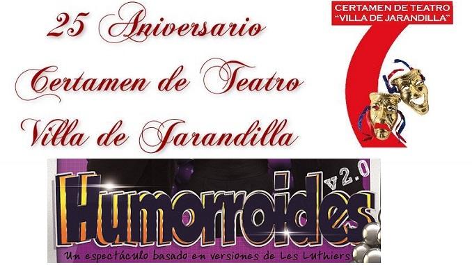 Humorroides, idea original de Les Luthiers hoy en Jarandilla de la Vera