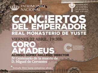 Música en Yuste. Conciertos del Emperador.