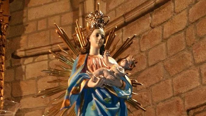 Ntra. Sra. del Salobrar permanecerá en la iglesia de Santa María hasta el domingo, día 10 de abril
