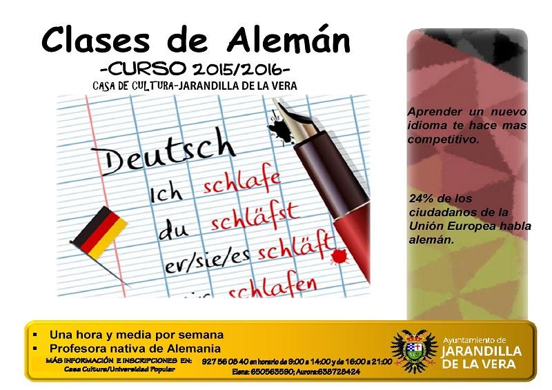 Clases de Alemán