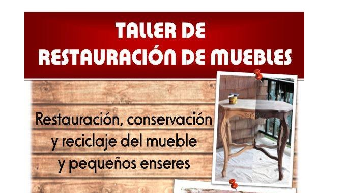 Taller de restauraci n de muebles y peque os enseres for Videos de restauracion de muebles