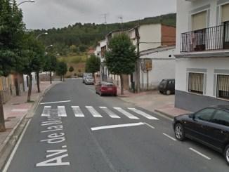 Peatones elevados Avenida de la Montaña