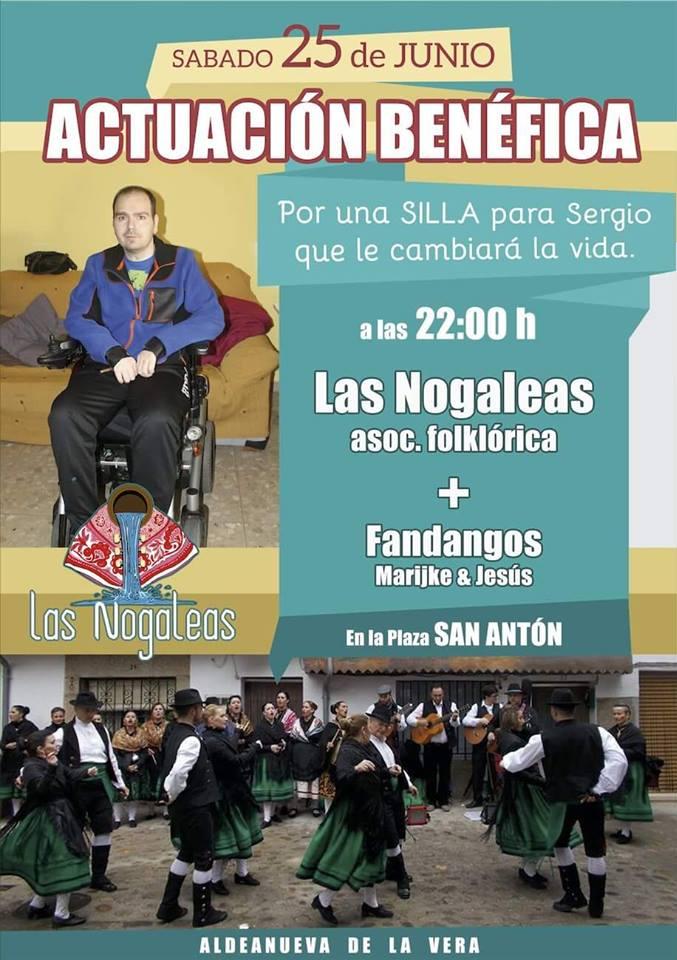 Actuación Benéfica a favor de Sergio Torés Ramos