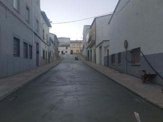 Mejoras en la Calle Barrio Matadero