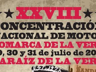 XXVIII concentración nacional de Motos Comarca de La Vera