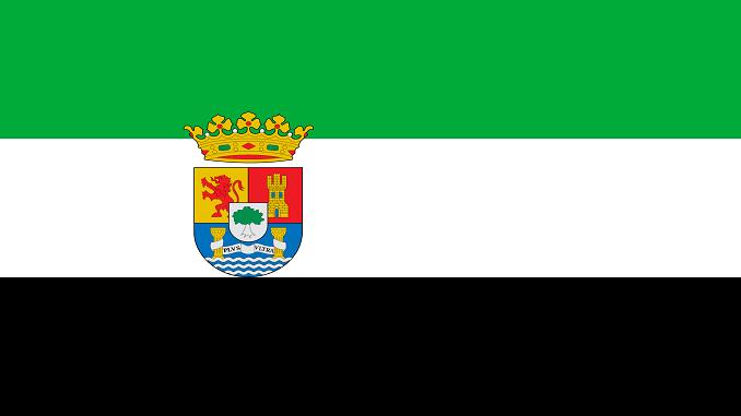Himno de Extremadura - Bandera de Extremadura