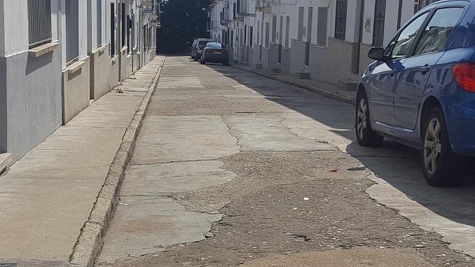 Comenzarón las obras de mejora en la Calle Obispo Manzano