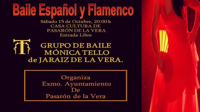 La Escuela de baile Mónica Tello de Jaraíz abre las Jornadas del Otoño Cultural en Pasarón