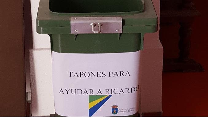 Recogida de tapones para ayudar a Ricardo Luengo