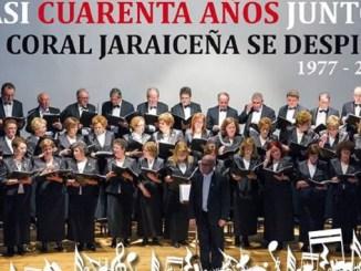 Casi Cuarenta Años Juntos. La Coral Jaraiceña se despide en la festividad de Santa Cecilia