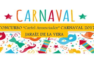 """Concurso """"Cartel Anunciador"""" CARNAVAL 2017 en Jaraíz de la Vera"""