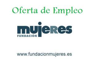 Oferta de Empleo Fundación Mujeres Cáceres
