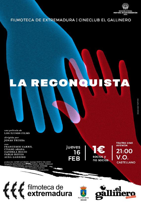 La Reconquista de Jonás Trueba con la Filmoteca de Extremadura y Cineclub El Gallinero