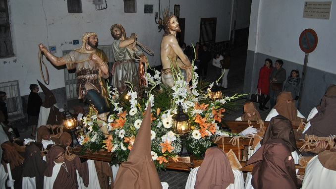 Procesión de Jueves Santo | Cofradía del Amarrado a la Columna