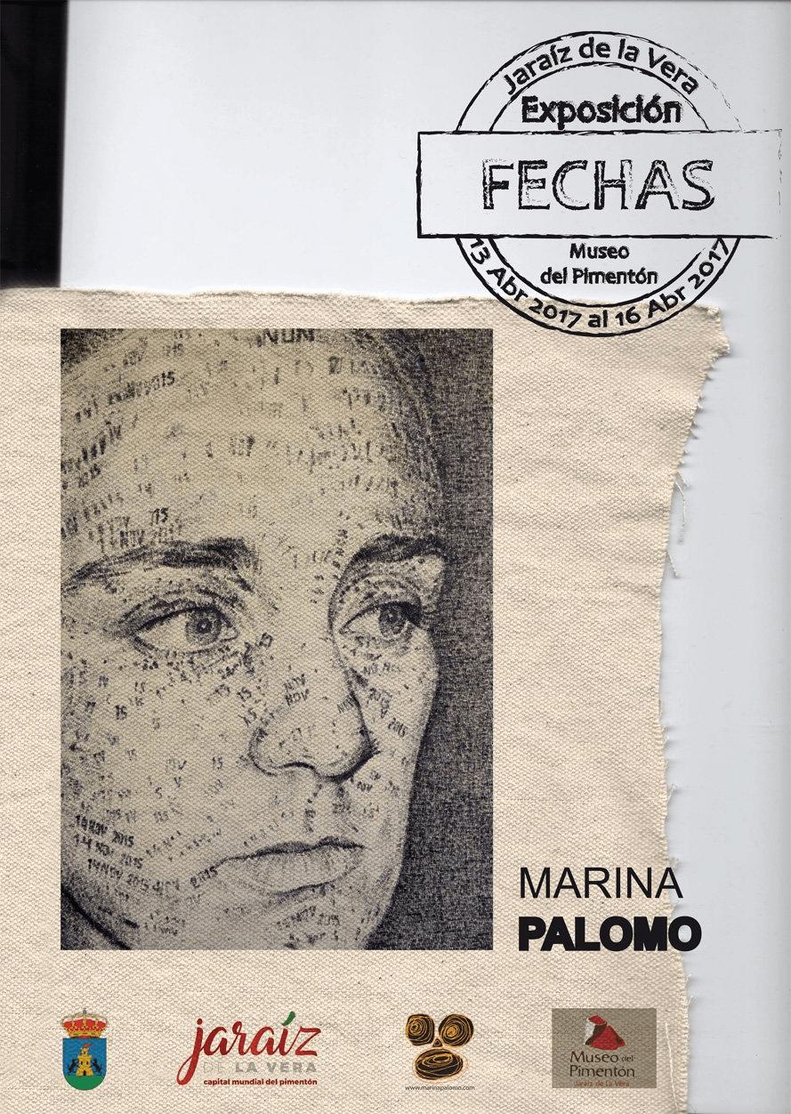 Exposición Fechas de Marina Palomo en Jaraíz de la Vera