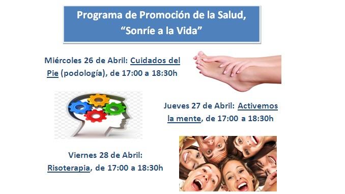 """Programa de promoción de salud """"Sonríe a la Vida"""""""