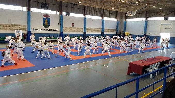 Éxito en el Campeonato de Extremadura de Karate Infantil de Kata y Kumite