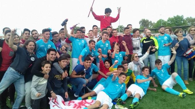El C.F. Jaraíz Juvenil logra el ascenso a Primera División Juvenil Extremeña en Cáceres empatando a dos ante el Cacereño Atlético VeraCruz