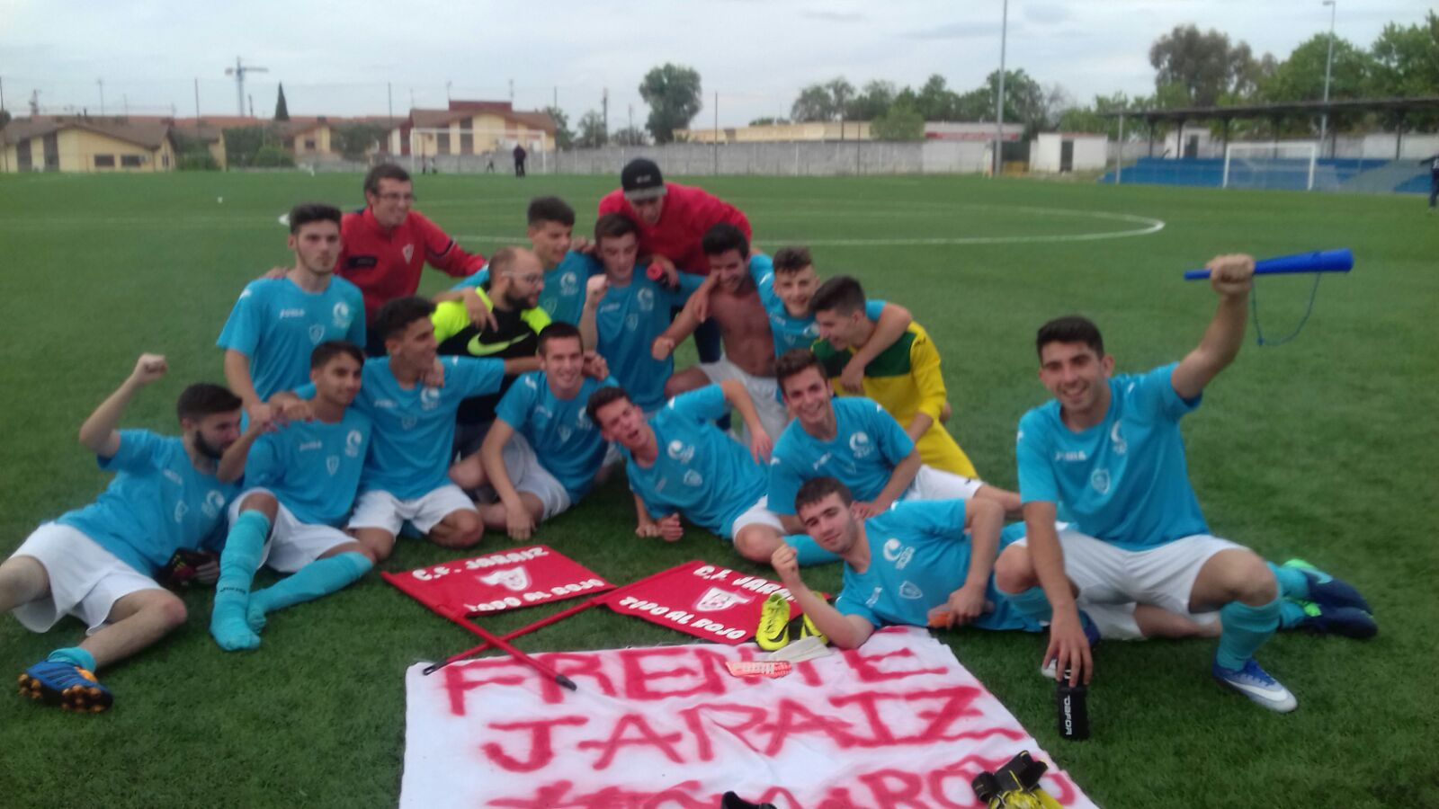 03 El C.F. Jaraíz Juvenil logra el ascenso a Primera División Juvenil Extremeña