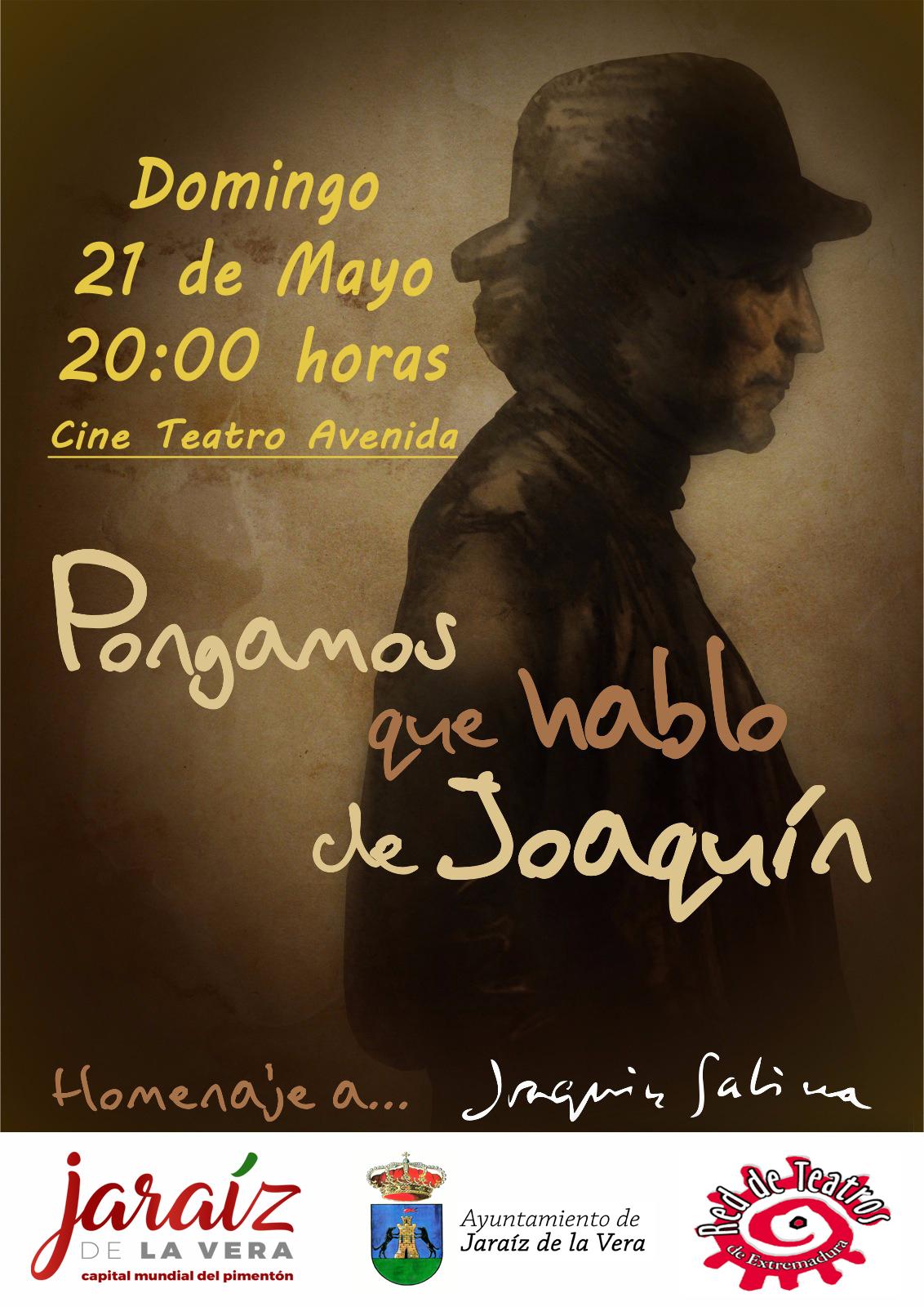 """""""Pongamos que hablo de Joaquín"""" homenaje a Joaquín Sabina"""