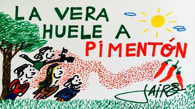 Viñeta   La Vera Huele a Pimentón   Autor Jairo Jiménez